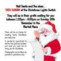 Banbury Christmas Lights Santa grotto 2017
