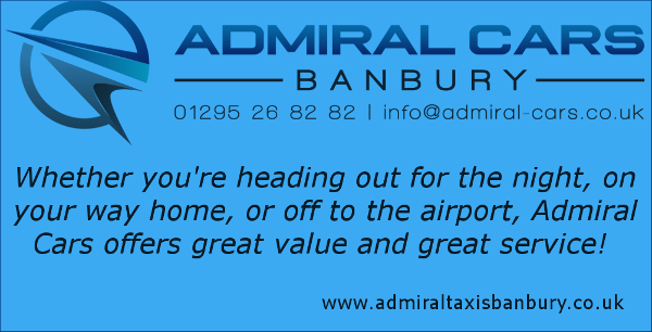 Contact Admiral Cars Banbury Taxis for all your taxi and airport transfer requirements