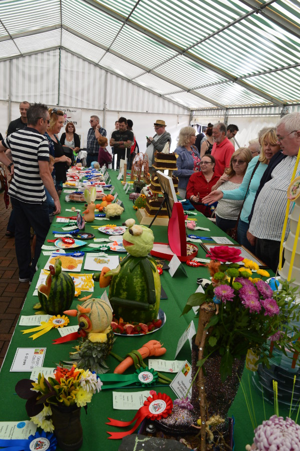 Flower and Produce Show entries