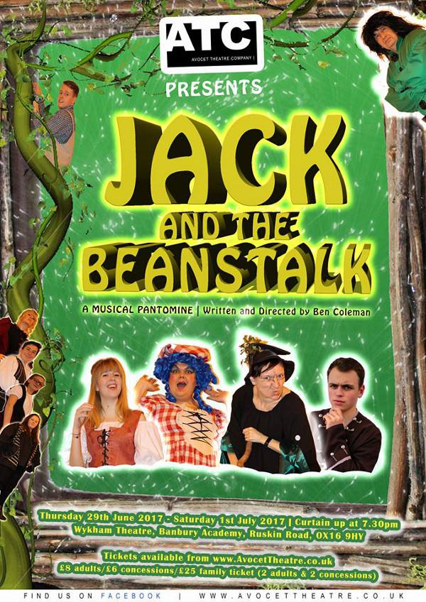 Avocet Theatre Company presents Jack & the Beanstalk: