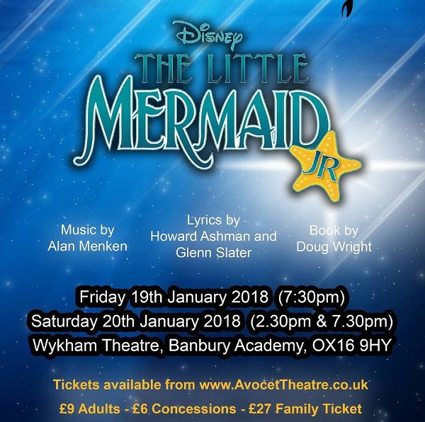 Avocet Theatre Company perform Disney's The Little Mermaid Jr!