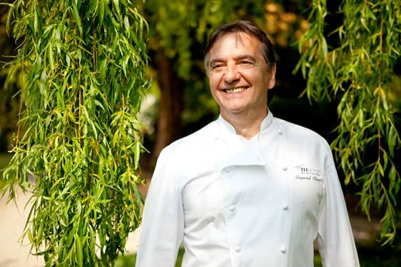 One of the world's most respected chefs, Raymond Blanc OBE.