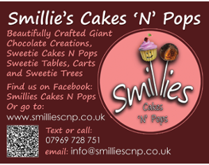Cakes, Sweetie Treats, Vintage Cart & 3ft Ferris Wheel, popcorn carts, cheese carts, 4ft LOVE, venue decoration including chair covers and much more.