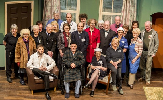 The Banbury Cross Players cast for 'It Runs in the Family' from the comic pen of Ray Cooney. Photo Mike Watling.