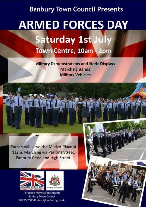 Armed Forces Day set for moving military tradition in Banbury