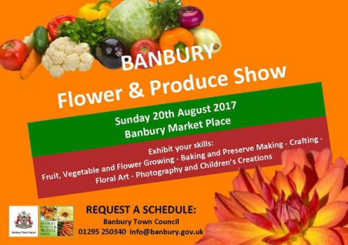 Win prizes at Banbury annual Flower and Produce Show
