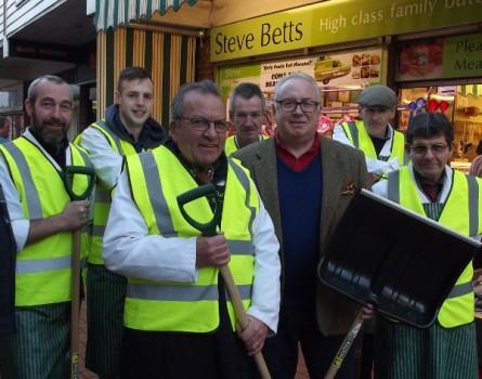 Banbury Butcher Joins Neighbourhood Snow Wardens Scheme