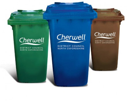 Cherwell District Council's bin collections over the Easter period.