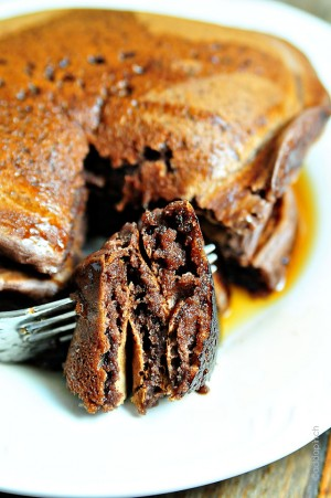 Everyone loves pancakes but chocolate pancakes are even nicer!