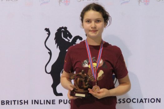 13 years old Emily Fallick heads to AAU Junior Olympics