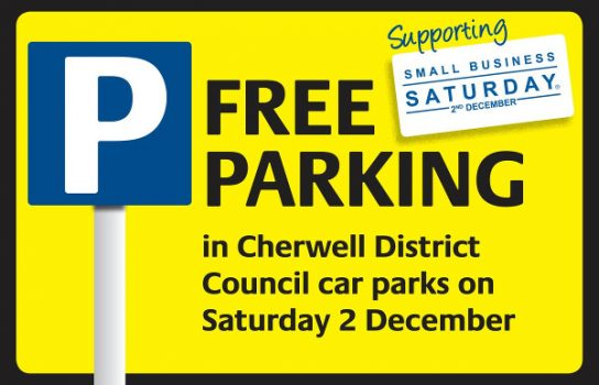 Temporary free parking for Banbury and Bicester