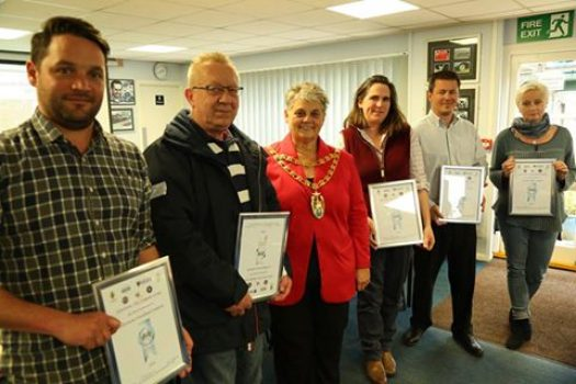 Seven campsites honoured at annual awards