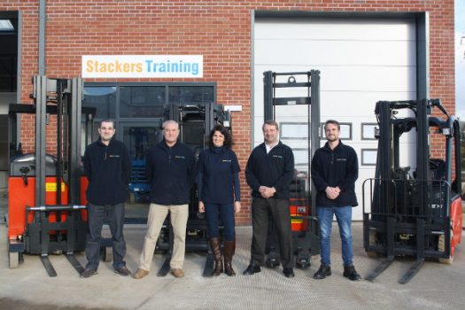 "Stackers Training – Getting forklift training ""on track"" at the former locomotive yard"