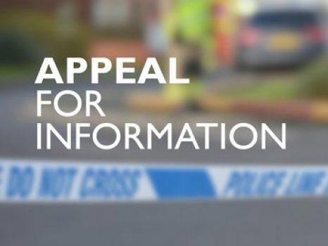 Thames Valley Police is appealing for witnesses after an elderly woman suffered a leg injury after youths threw bricks at her home in Banbury.