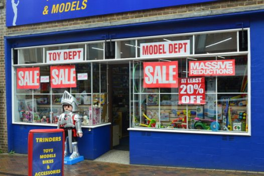 Popular toy shop to close as owners head to well-earned retirement.