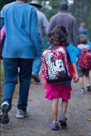 Walk to School Week for Bicester schoolchildren