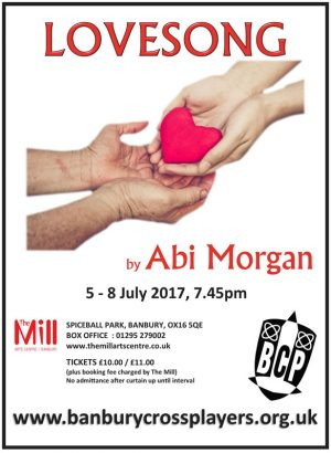 BCP production of Abi Morgan's Lovesong