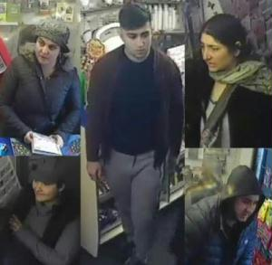 burglary in Chipping Norton CCTV image