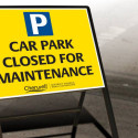 Car parks closure warning from Cherwell District Council
