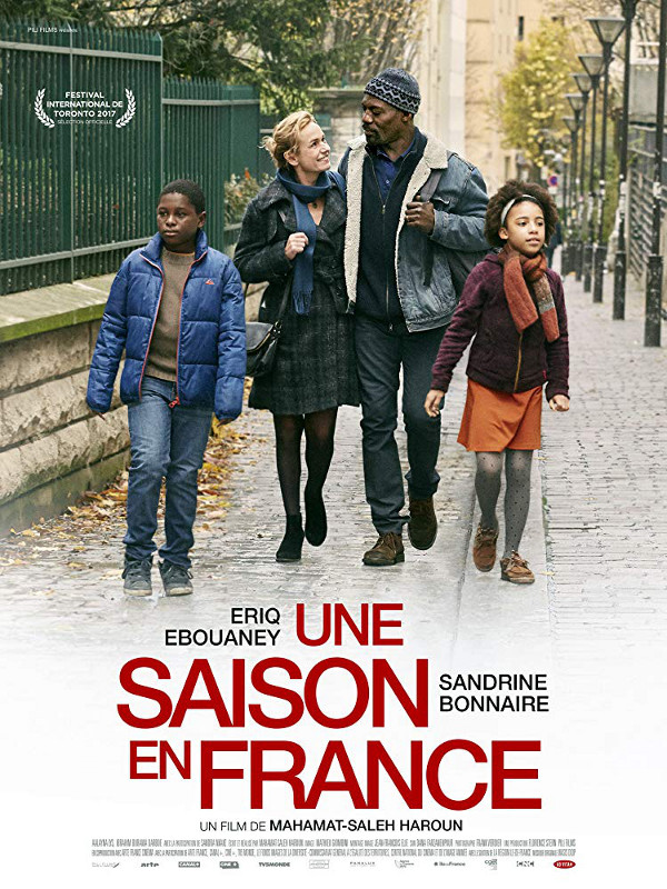 An African high school teacher flees his war-torn country for France, where he falls in love with a Frenchwoman who offers a roof for him and his family.