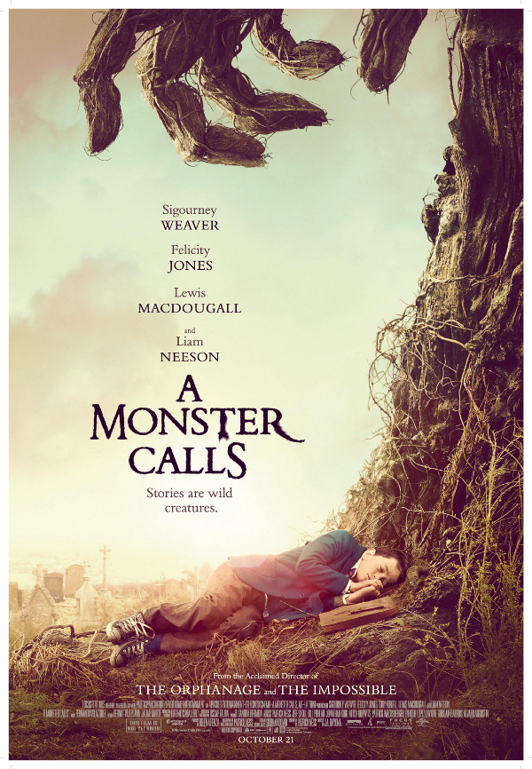 A Monster Calls: Based on Patrick Ness' award winning novel, from an original idea by Siobhan Dowd.