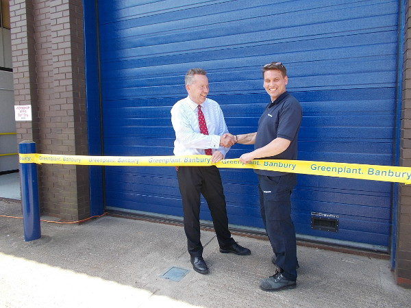 Official opening for Greenplant Ltd in Banbury