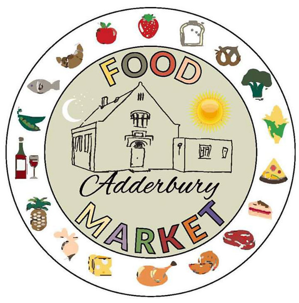 A community food market for the village. It comprises of lots of different food stalls:- veg, cheese, meat, breads, cakes, chocolates, chutneys and more