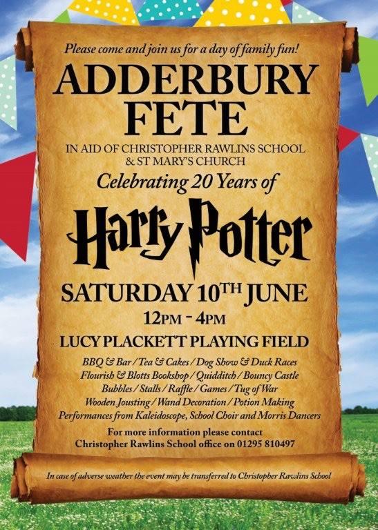 Adderbury Summer Fete Hosted by Christopher Rawlins PTFA