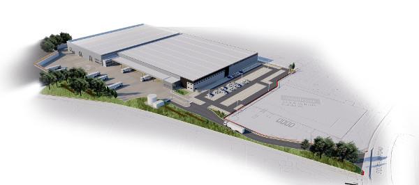 Work begins on £20M distibution/warehouse in Banbury.