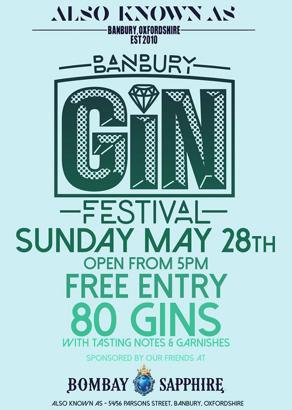 Banbury Gin Festival at AKA