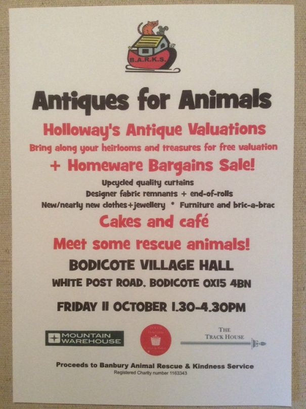 Free antique valuations by Banbury's Holloway's Auctioneers experts.