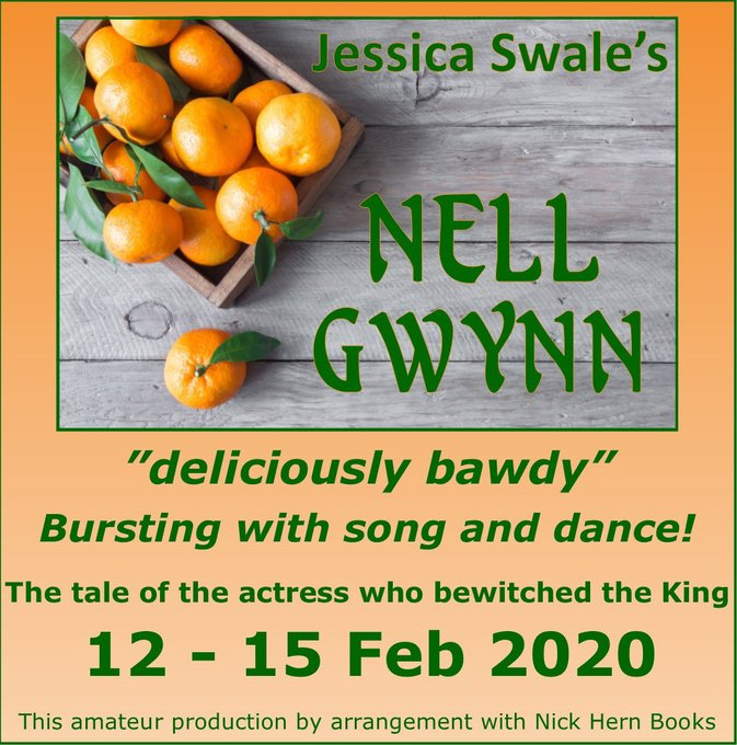 Banbury Cross Players presents: NELL GWYNN BY JESSICA SWALE
