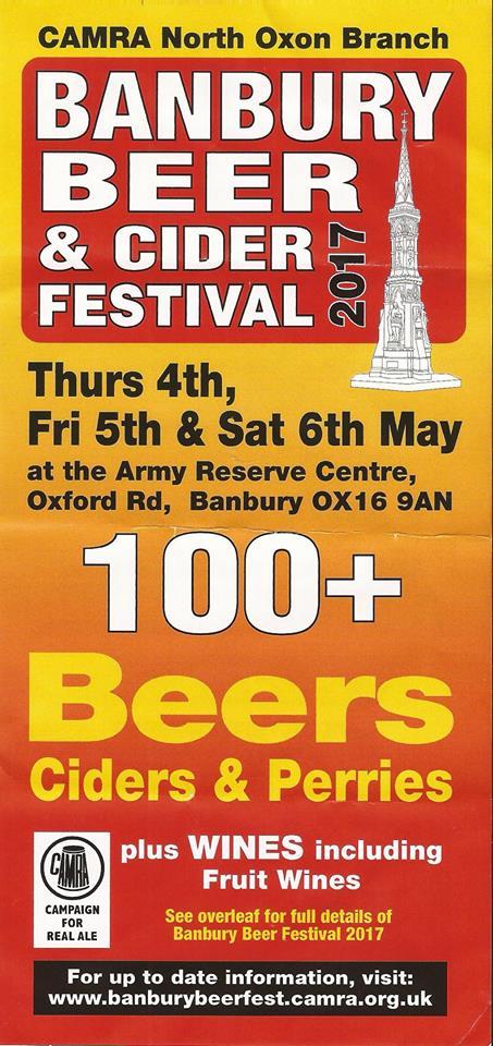 Banbury Beer & Cider Festival