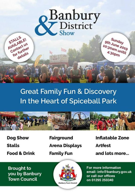 The ever popular Banbury and District Show is a great taster of life in Banburyshire