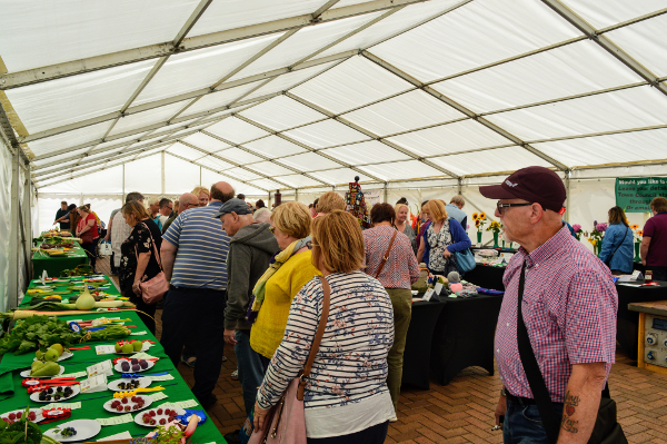 Banbury's Flower and Produce Show – at which local amateur growers and producers showed their skills – ran in conjunction  with the Food Fair.