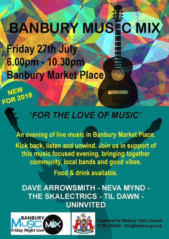 Good music, good food and drink make for a great evening in the heart of Banbury Town Centre.