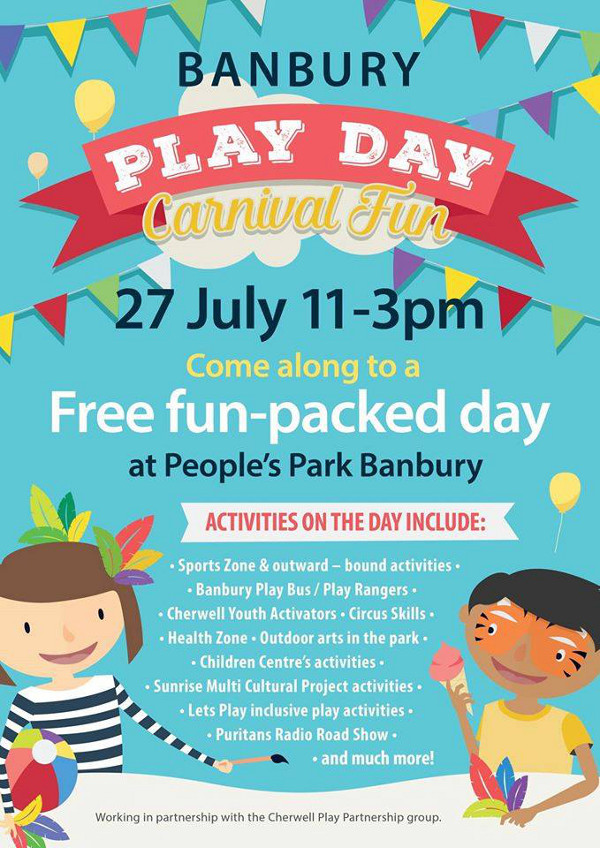 Banbury Play Day Carnival Fun July-27-2016