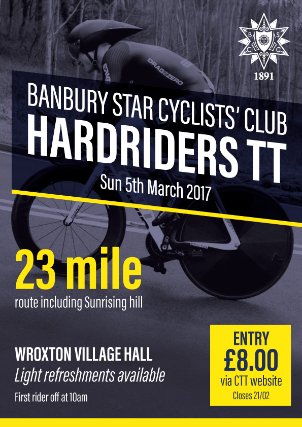 Banbury Star Cyclists Club Hardriders time trial