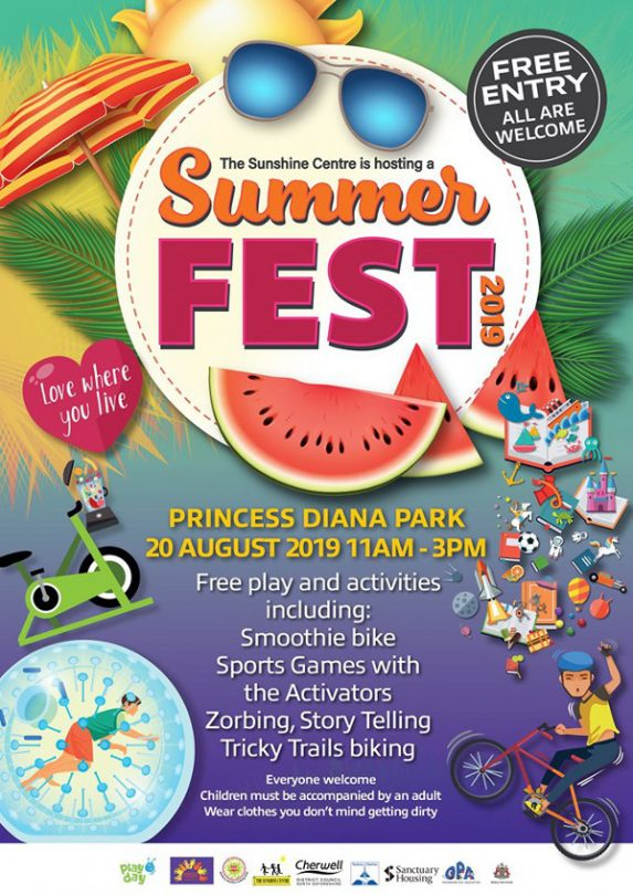 The annual summer fest is coming to Banbury this August!
