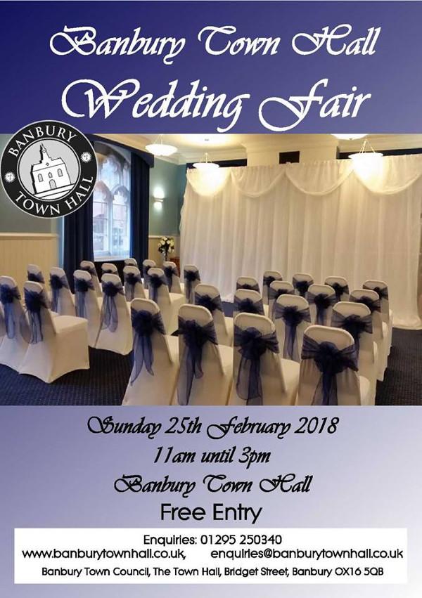 Banbury Town Hall Wedding Fair - Town Hall Buildings, 1 Bridge St, Banbury OX16 5QB