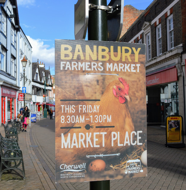 Banbury Farmer's Market. The first Friday of every month