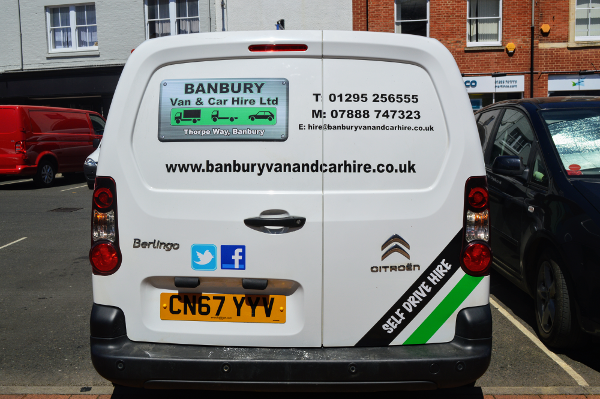 Banbury Van and Car Hire stock cars and vans of all sizes for whatever you need to carry.