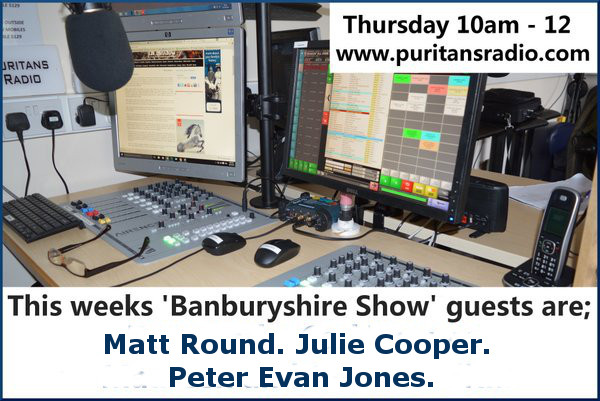 Banburyshire Show guests 1st September 2016. Presented by Ian Gentles.
