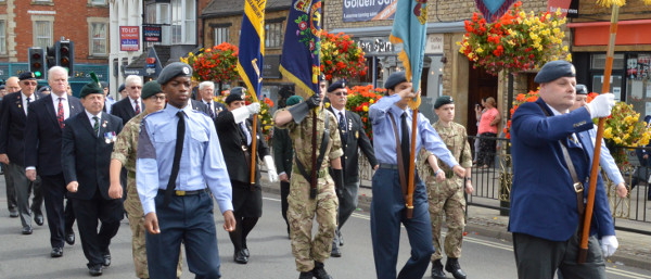 The Battle of Britain was remembered in Banbury