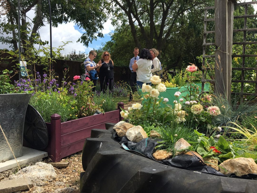 Judges from The Royal Horticultural Society were welcomed to Bicester on Thursday (11 July) for the Thames and Chiltern regional Britain in Bloom Competition.