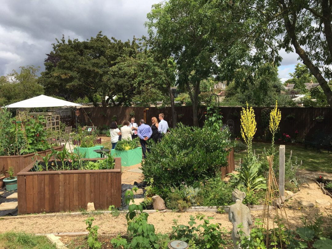 Hard work of community volunteers and funding from Cherwell District Council, Sanctuary Housing and Bicester Village, Bicester Community Garden is now blooming with life.
