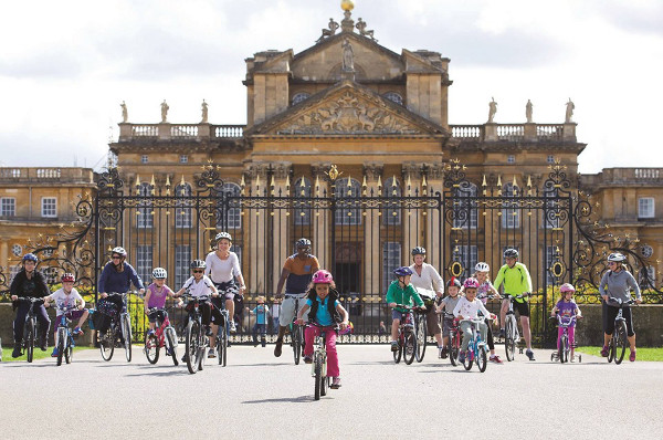Blenheim Palace Family Cycling Day