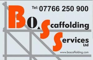 Boss scaffolding services.  High quality and reliable scaffolding service, at competitive prices to Banbury and the surrounding area.