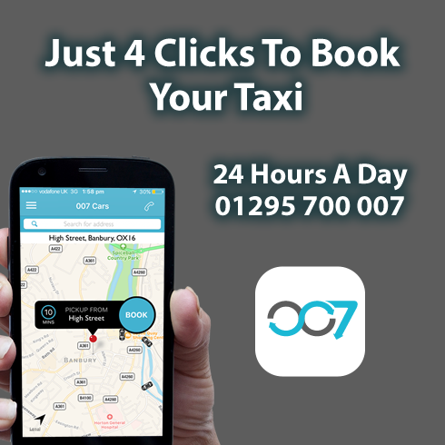 007. A forever growing professional taxi service based in Banbury, North Oxfordshire.