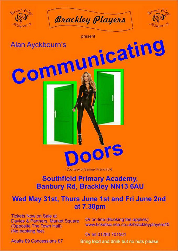 Brackley Players present... 'Communicating Doors' by Sir Alan Ayckbourn